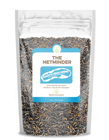 The Netminder - black tea and nettle blend