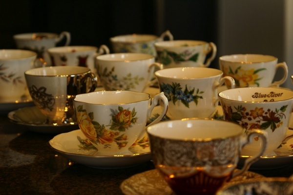 #teacups #vintage #hightea #bridalshower